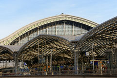 Cologne Central Station Stock Photo