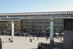 Cologne Central Station Stock Photography