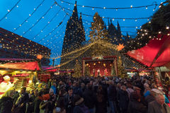 Cologne - christmas market Stock Images