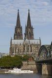 Cologne - Cologne domkyrka Arkivfoton