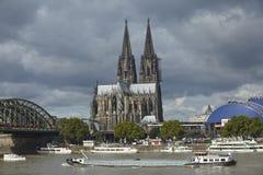 Cologne - Cologne domkyrka Arkivfoto