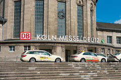 Cologne deutz railway station Stock Photos