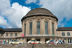 Cologne deutz railway station Stock Photo