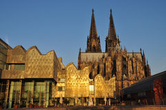 Cologne Dom gothic cathedral, Germany. Stock Images