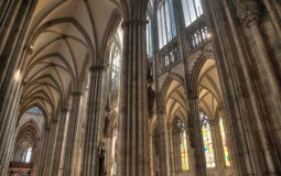 Cologne Dom Nave Royalty Free Stock Photo