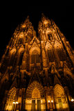 Cologne Dom by night Stock Photo