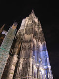 Cologne Dome. Cologne (Koeln) Dome by night (Germany Stock Photo