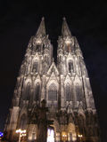 Cologne Dome. Cologne (Koeln) Dome by night (Germany Royalty Free Stock Image