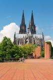 Cologne domkyrka fotografering för bildbyråer