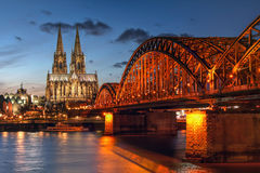 cologne germany Arkivfoto