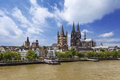 Cologne - Germany Royalty Free Stock Photos