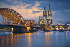 Cologne, Germany. Royalty Free Stock Photo