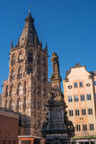 Cologne, Germany - January 19, 2017: Tower City Hall. Stock Photos