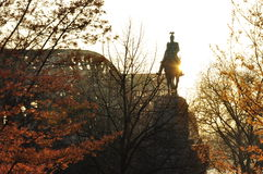 Cologne, Germany. Kaiser Wilhelm II statue Stock Image