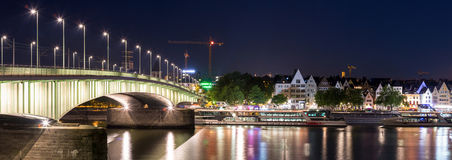 Cologne Germany Panorama Royalty Free Stock Image