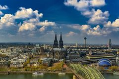 Cologne city, Germany royalty free stock photo