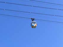 COLOGNE, GERMANY - SEPTEMBER 12, 2015: Cologne Cable Car with bo Stock Images
