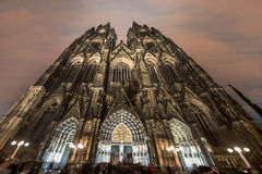 Cologne Gothic cathedral Royalty Free Stock Photography