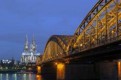 Cologne gotisk domkyrka Royaltyfri Bild