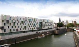 Cologne - Holzmarkt to Rhine. Artotel-cologne.hotel at Noah's Ark Royalty Free Stock Photos