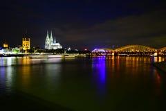 Cologne horisont Arkivfoto