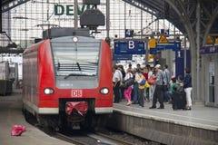 Cologne järnvägsstation, Tyskland Royaltyfri Bild