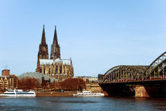Cologne(Köln)Cathedral, Germany Royalty Free Stock Photos