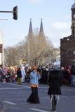 Cologne karneval Royaltyfri Bild