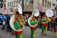 Cologne karneval Arkivfoton