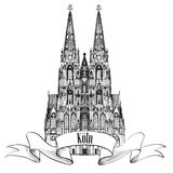 Cologne Koln landmark. Travel Gemany symbol Stock Image
