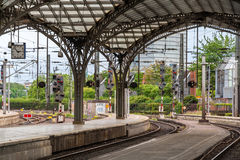 Cologne main rail station, Germany, North Rhine-Westphalia Stock Photography