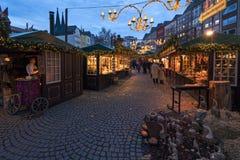 Cologne, marché de Noël Photos stock
