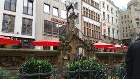 Cologne monument Arkivfoto