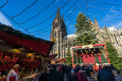 Cologne - Noël Photographie stock