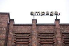 Cologne, North Rhine-Westphalia/germany - 24 10 18: ampega sign on an building in cologne germany. Cologne, North Rhine-Westphalia/germany - 24 10 18: an ampega stock image