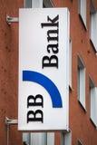 Cologne, North Rhine-Westphalia/germany - 24 10 18: BB Bank sign in cologne germany. Cologne, North Rhine-Westphalia/germany - 24 10 18: an BB Bank sign in royalty free stock photo