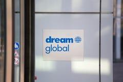 Cologne, North Rhine-Westphalia/germany - 17 10 18: dream global sign in cologne germany. Cologne, North Rhine-Westphalia/germany - 17 10 18: an dream global royalty free stock image