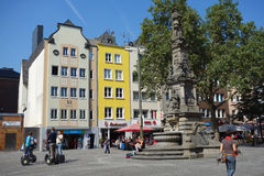 Cologne old city Stock Photography