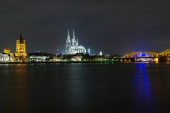 Cologne panorama Royalty Free Stock Images