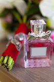 Cologne perfume bottles Royalty Free Stock Images
