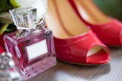 Cologne perfume bottles Stock Photo