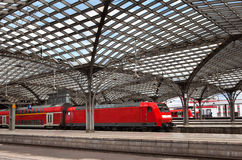 Cologne Railwail Station Stock Photo