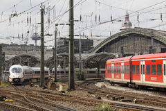 Cologne Railway Station Royalty Free Stock Image