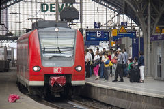 Cologne Railway Station, Germany Royalty Free Stock Image