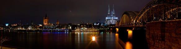 Cologne riverfront Stock Image