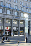 Cologne Station forecourt Stock Images