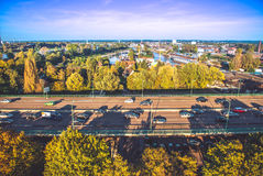 Cologne top view Royalty Free Stock Photo