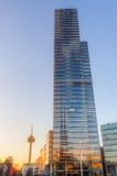Cologne torn på Mediapark i Cologne, Tyskland Royaltyfri Fotografi