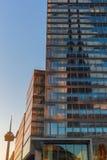 Cologne torn på Mediapark i Cologne, Tyskland Arkivbilder