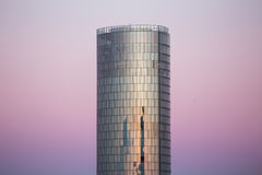 Cologne triangle tower sundown Stock Images